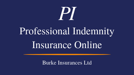Professional Indemnity Insurance Online