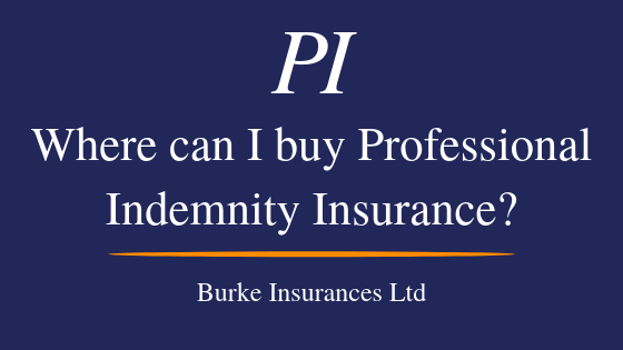 Where Can I Buy Professional Indemnity Insurance?