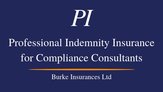 Professional Indemnity Insurance For Compliance Consultants