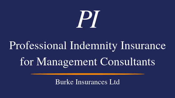 Management Consultant Professional Indemnity Insurance